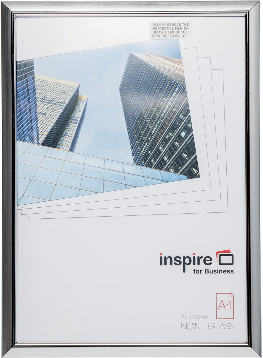 Inspire for Business fotokader Easyloader, zilver, ft A4