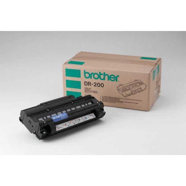 Brother drum, 20.000 pagina's, OEM DR-200, zwart