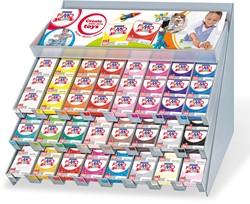 Staedtler Fimo Effect boetseerpasta, display van 192 stuks, geassorteerde pastelkleuren