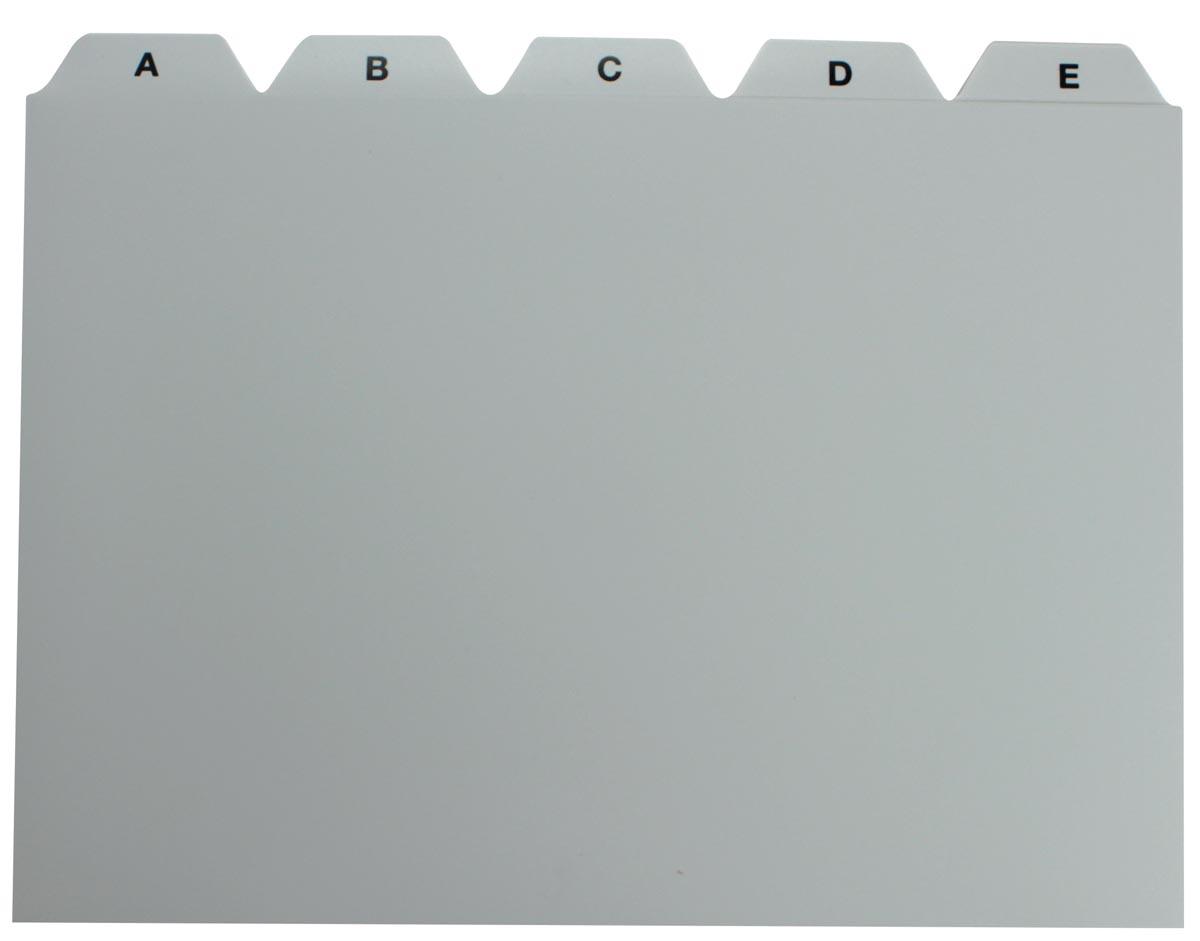 5 Star tabbladen voor systeemkaartenbakken ft A5