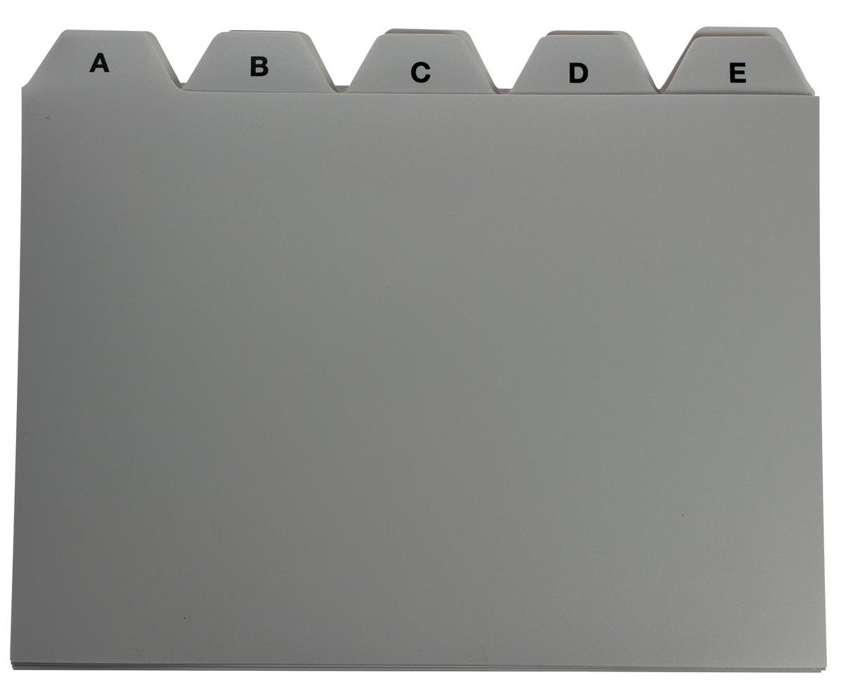 5 Star tabbladen voor systeemkaartenbakken ft A6