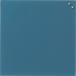 Naga magnetisch glasbord ft 45 x 45, blauw