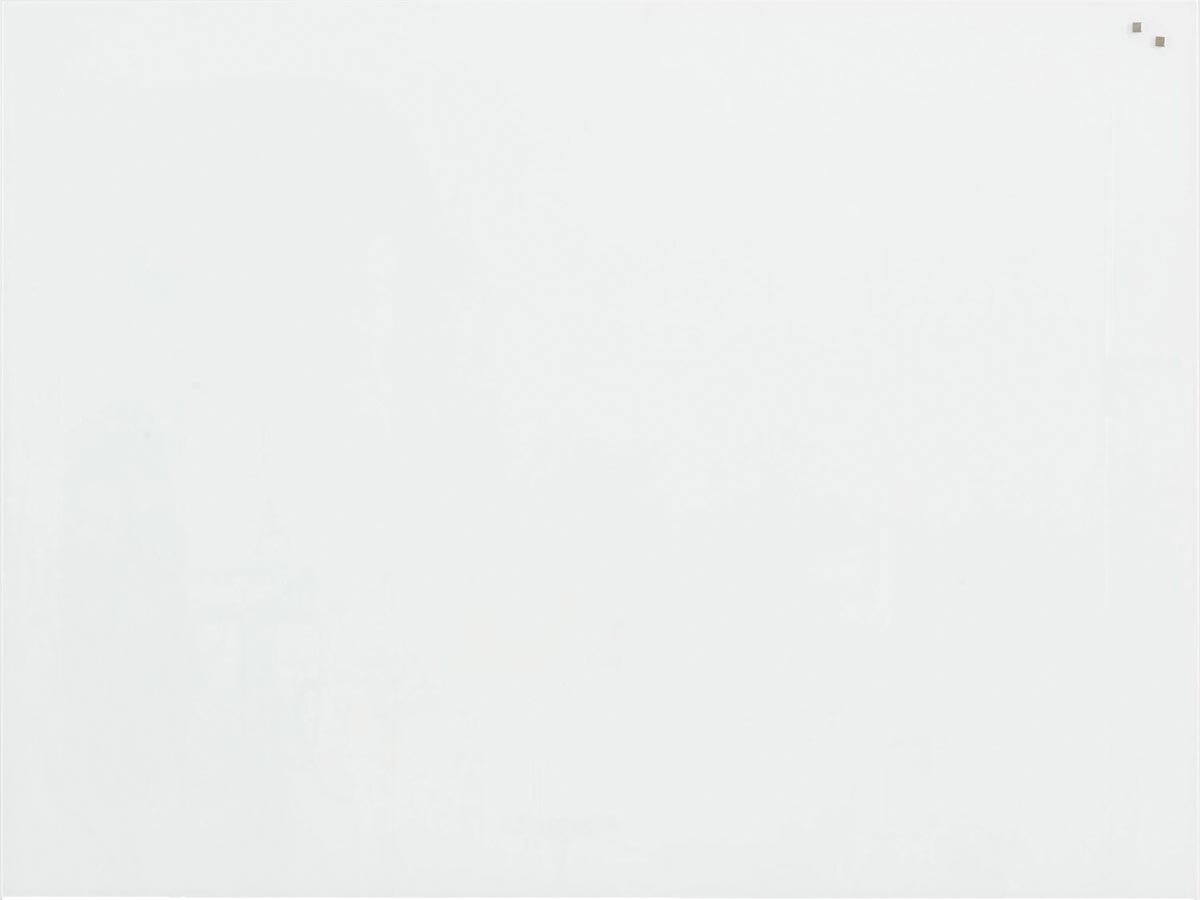 Naga magnetisch glasbord 90 x 120, wit