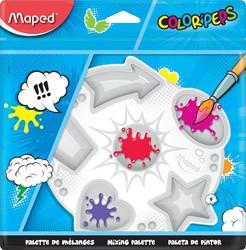Maped Color'Peps verfpalet met 6 vakken, ophangetui met 1 stuk