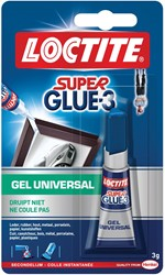 Loctite secondelijm Super Glue Gel Universal