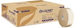 Lucart Professional toiletpapier jumbo EcoNatural 900 ID, pak van 12 rollen