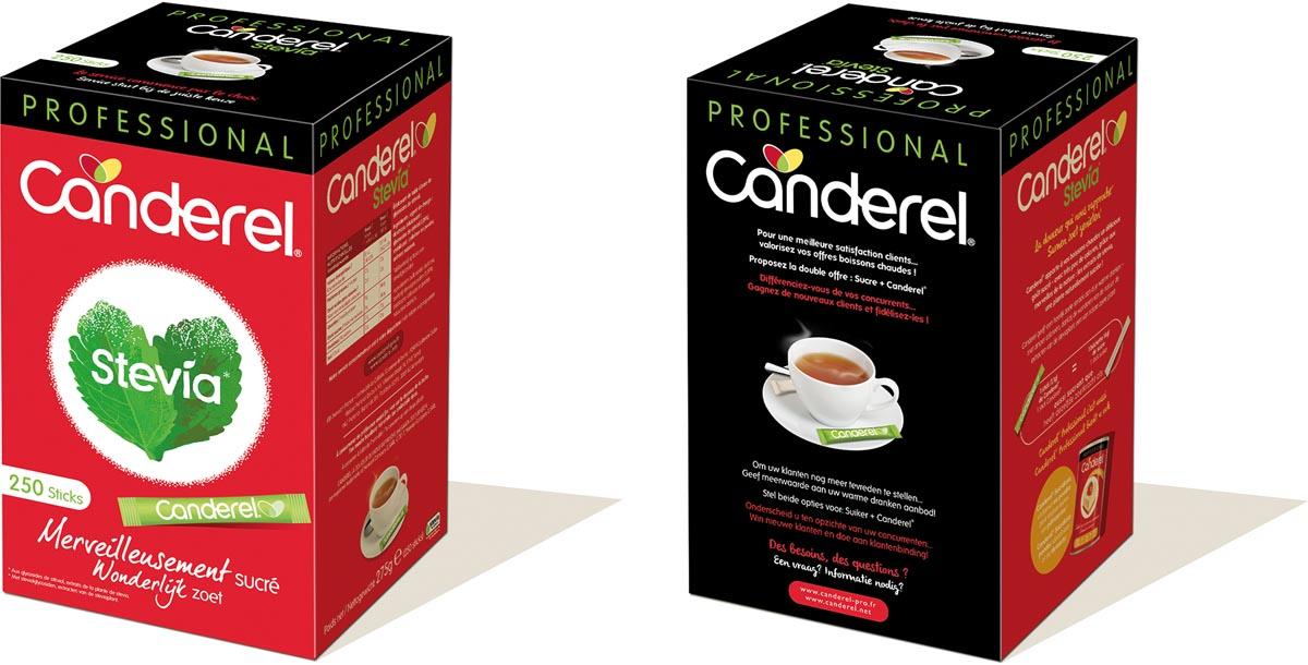 Canderel Stevia 250 sticks, 250 X 1,1 gr stick