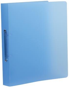 Class'ex ringmap, 2 ringen van 30 mm, transparant blauw