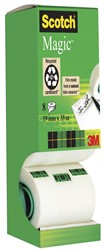 Scotch plakband Scotch Magic  Tape value pack met 8 rollen waarvan 1 gratis