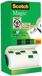 Scotch plakband Scotch Magic Tape, value pack 12 + 2 rollen gratis