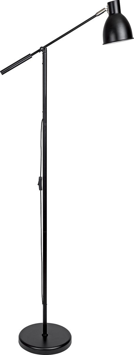 Maul vloerlamp MAULfinja, zwart