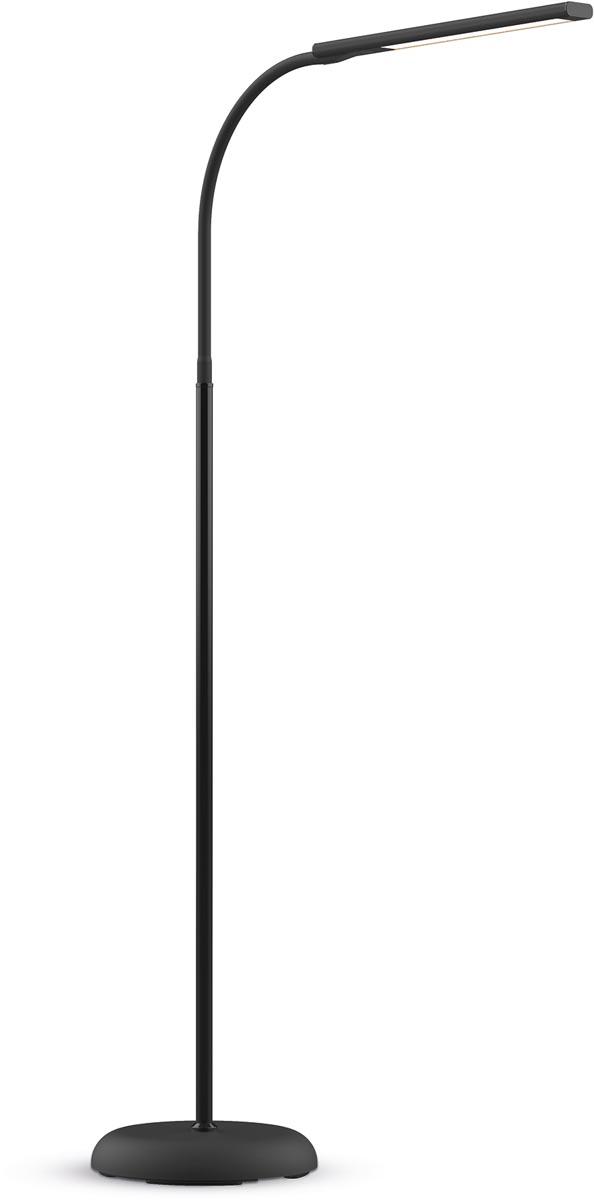 Maul vloerlamp MAULpirro, LED-lamp, dimbaar, zwart