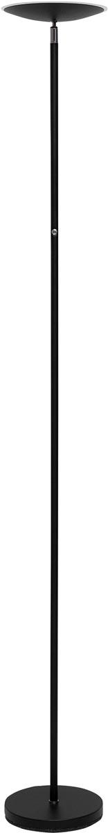 Maul vloerlamp MAULsphere, LED-lamp, dimbaar, zwart