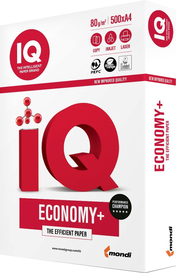 IQ Economy+ printpapier ft A3, 80 g, pak van 500 vel