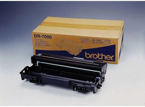 Brother drum, 20.000 pagina's, OEM DR-7000, zwart