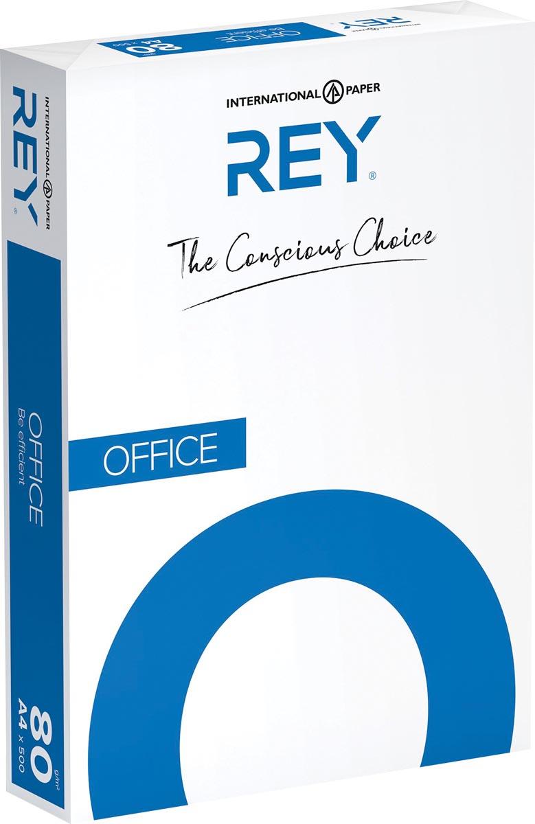 Rey Office Document printpapier ft A4, 80 g, doos van 2500 vel