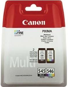 Canon inktcartridge PG-545/CL-546, 180 pagina's, OEM 8287B006, 4 kleuren