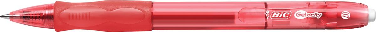 Bic gelroller Gel-ocity, rood
