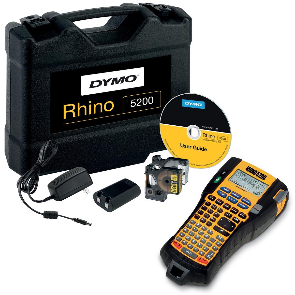 Dymo beletteringsysteem Rhino 5200 kit