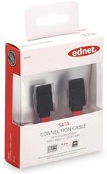 Ednet SATA kabel L-type, 0,3 meter