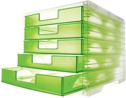 Styro ladenblok Styrolightbox transparant kiwi