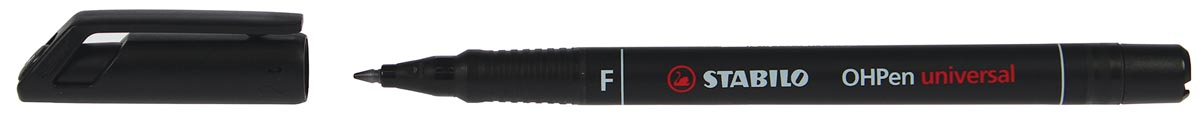 STABILO OHPen universal, OHP-marker, permanent, fijn 0,7 mm, zwart