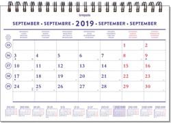 Brepols maandkalender, 2019