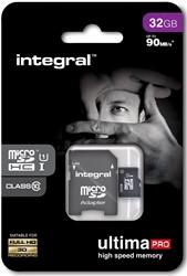 Integral UltimaPro X microSDHC geheugenkaart, klasse 10, 32 GB