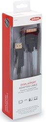 Ednet DisplayPort kabel type DP - DVI-D(Dual Link), 2 meter, verguld