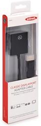 Ednet DisplayPort kabel type DP - DVI-I(Dual Link), 0,15 meter