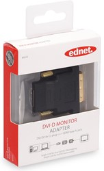 Ednet DVI adapter type DVI-D(18+1) - HDMI A