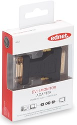 Ednet DVI adapter type DVI - HD15, jack