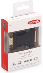 Ednet DVI adapter type DVI - HD15, plug