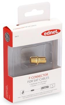 Ednet Ednet SAT F-Connector (84673)
