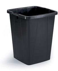 Durable afvalbak Durabin 90 liter, zwart