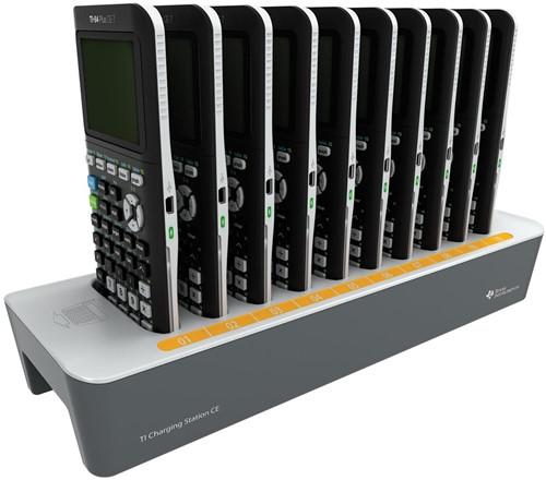 Texas docking station voor de TI-84 Plus CE-T en TI-83 Premium rekenmachines