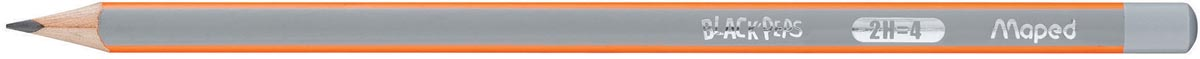 Maped potlood Black'Peps 2H, zonder gum