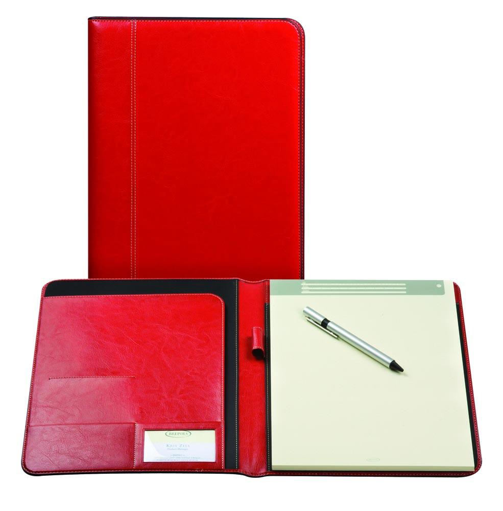 Brepols schrijfmap Palermo voor ft A4, rood
