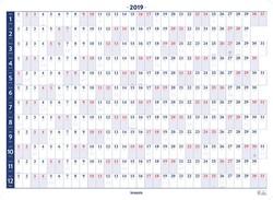 Brepols jaarplanner, 2019