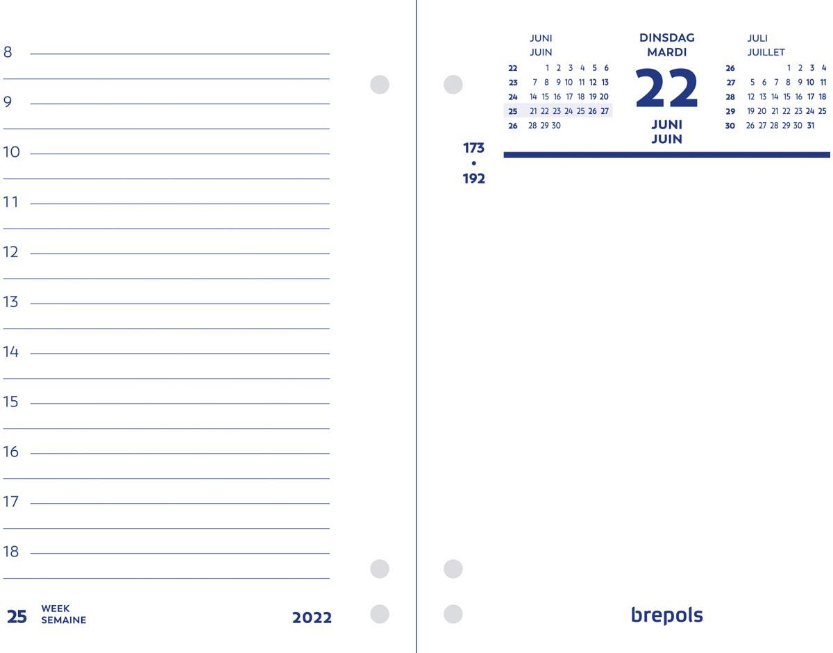 Brepols dagomlegger, 2022