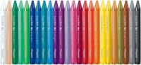Maped waskrijt Color'Peps, doos van 24 stuks in geassorteerde kleuren-2