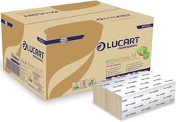 Lucart Professional handdoeken EcoNatural M, pak van 125 vel