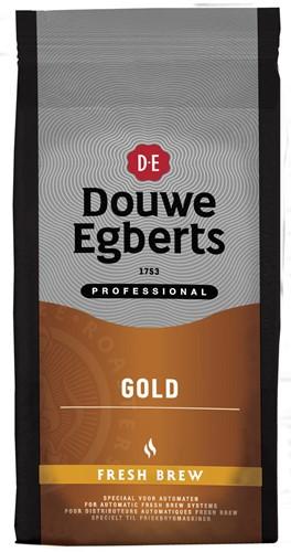 Douwe Egberts gemalen koffie voor automaten, Gold fresh brew, pak van 1 kg