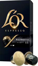 Douwe Egberts koffiecapsules L'or Intensity 11, Ristretto, pak van 10 capsules