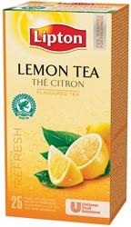 Lipton thee, citroen, pak van 25 zakjes