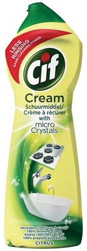 Cif schuurcrème citrus, flacon van 750 ml