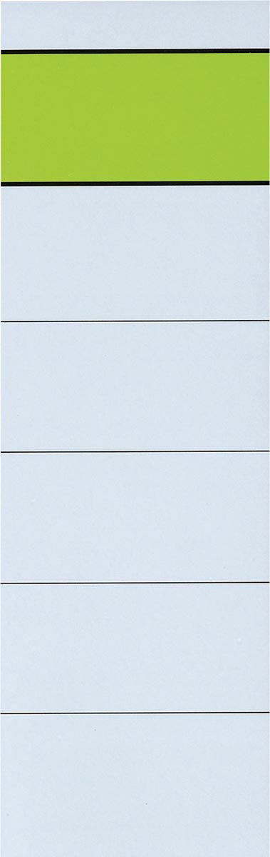Rugetiketten ft 5,4 x 19 cm, pak van 10 stuks