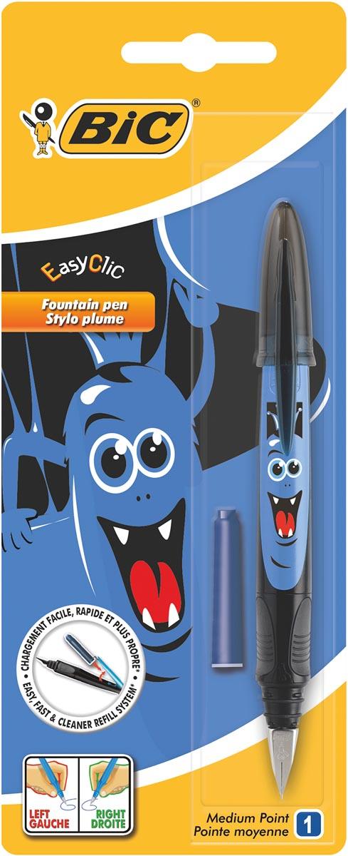 Bic vulpen Easy Clic Monster, blister met 1 stuk