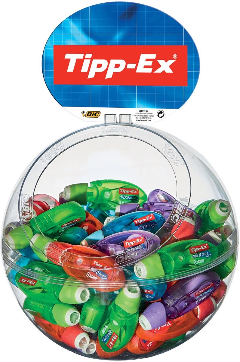 Tipp-Ex correctieroller Micro Tape Twist display van 60 stuks