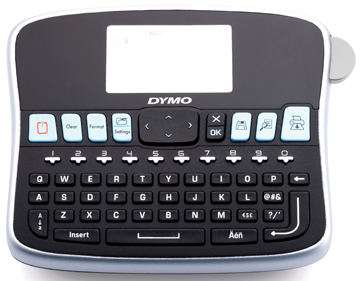 Dymo beletteringsysteem LabelManager 360D qwerty-toetsenbord